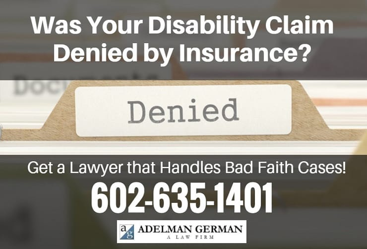 Was Your Disability Claim Denied by Insurance?